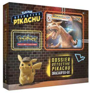 CARTE A COLLECTIONNER Pokémon - Collection Detective Pikachu Coffret 6 b