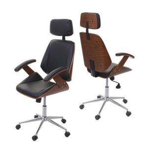 CHAISE DE BUREAU Chaise de bureau HWC-E91, fauteuil pitovant, desig