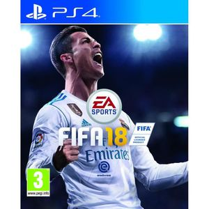 JEU PS4 FIFA 18 Jeu PS4 + 3 cartes FIFA collector