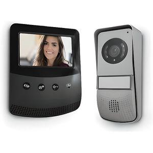INTERPHONE - VISIOPHONE AVIDSEN Visiophone 2 fils -  Écran 4,3 pouces - No