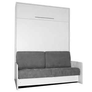 LIT ESCAMOTABLE DESTOCK - Cette armoire lit SPACE SOFA se trans...