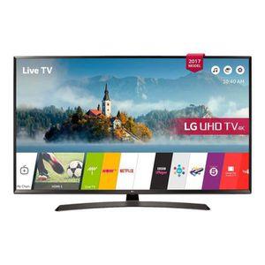 Téléviseur LED LG 49UJ634V - Classe 49