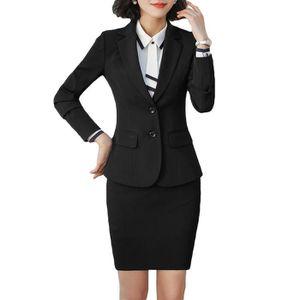 COSTUME - TAILLEUR Costume Femme Marque Luxe Veste +Jupe slim fit Ens