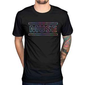 T-SHIRT T-shirt pour homme avec logo Muse Titres de chanso