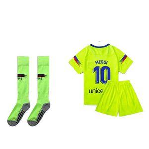 MAILLOT DE FOOTBALL T-Shirt De Football Garçon, New Home Away Maillot