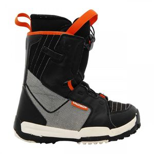 CHAUSSURES SNOWBOARD Boots junior Salomon Talapus noir/gris/orange