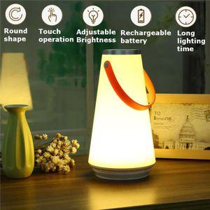 LAMPE A POSER TEMPSA LED Tactile Veilleuse Lampe Lumière Chevet