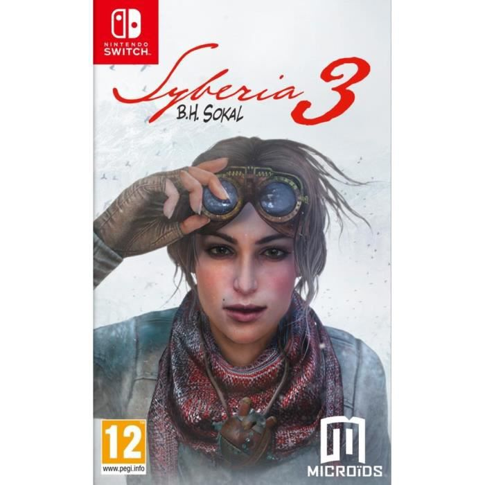 Syberia 3 Jeu Switch