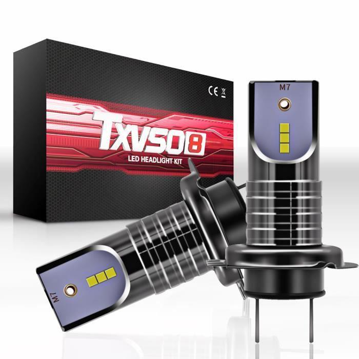 Ampoules de phare de voiture H7 LED 100W 26000LM 6000K CSP Chip 2pcs WSB90220636B