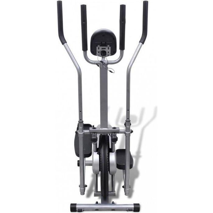 Machines de cardiotraining Velo elliptique 4 poignees