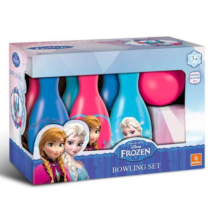 FROZEN Disney - Set de Bowling de la REINE DES NEIGES - fille - bleu