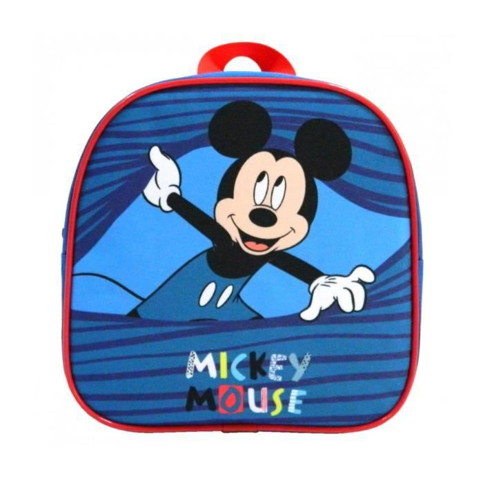 Mickey sac à dos goûter maternelle