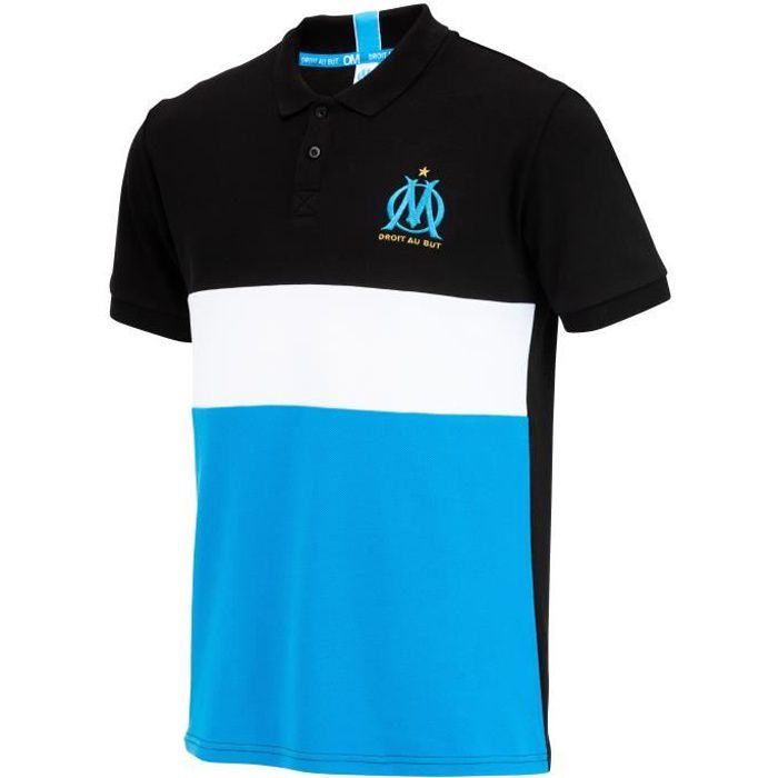 Polo OM - Collection officielle OLYMPIQUE DE MARSEILLE - Taille Homme L