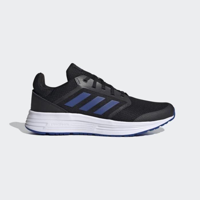 ADIDAS Baskets de Running GALAXY 5 Homme Noir, Bleu et Blanc