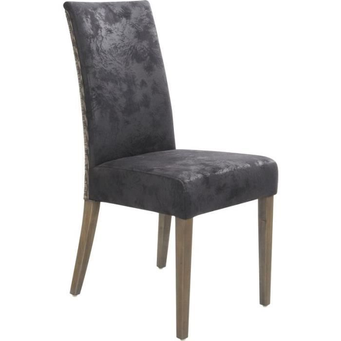chaise en rotin sophie achat vente chaise gris cdiscount. Black Bedroom Furniture Sets. Home Design Ideas