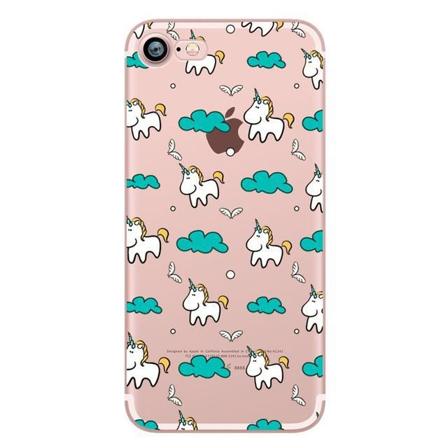 COQUE - BUMPER Coque Licorne iphone 8 plus