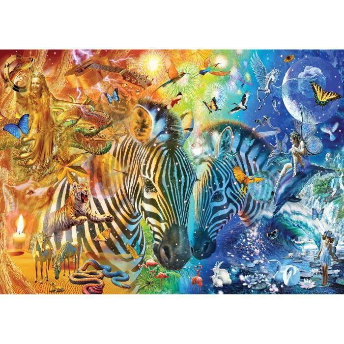 PUZZLE Puzzle 2000 pièces Adrian Chesterman - Mars & Venu