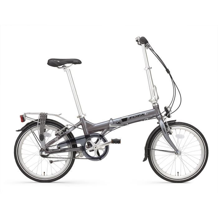 VÉLO PLIANT Vélo Pliant Popal Reload en Aluminium Roues 20 Pou