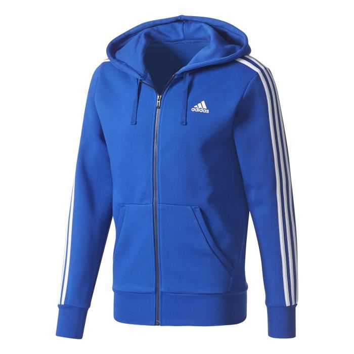 Veste à capuche adidas Essentials 3 Stripes Fleece Prix