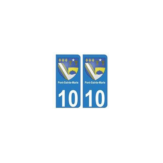 10 Romilly-sur-Seine ville autocollant plaque
