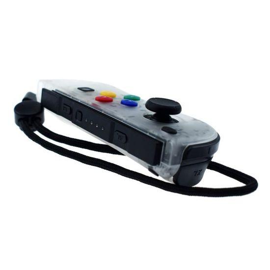 Gauche Et Droite Contrôleurs De Jeu Joy Con Jaune Vert Pour Nintendo Switch Console