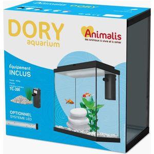 AQUARIUM Animalis - Aquarium Dory Équipé Blanc - 10L