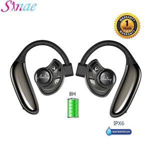OREILLETTE BLUETOOTH Sinae® Mini Oreillette Bluetooth Losei Double Stér