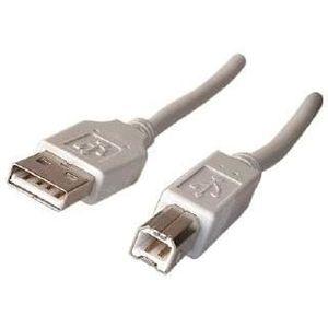CÂBLE INFORMATIQUE Cable USB Type AB male/male - 1.8m