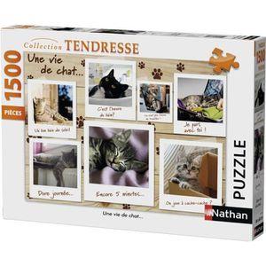 PUZZLE Puzzle 1500 pcs Une Vie De Chat
