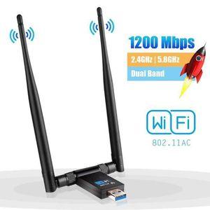 CLE WIFI - 3G Clé WiFi Dongle Adaptateur USB sans Fil AC 1200Mbp