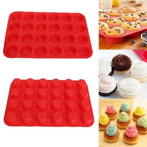 MOULE  24 Rayons Silicone Gâteau Moule Cookies Muffin Bon