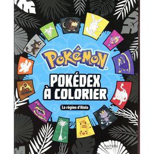 LIVRE 0-3 ANS ÉVEIL Livre - POKEMON ; pokédex à colorier
