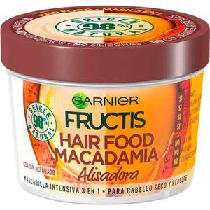 MASQUE SOIN CAPILLAIRE FRUCTIS HAIR FOOD macadamia masque alisadora 390 m