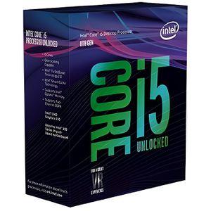 PROCESSEUR INTEL Processeur Intel Core i5-8600K - Socket LGA1