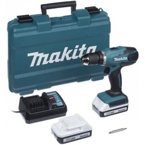 PERCEUSE MAKITA DF457DWE - Perceuse / Visseuse 18V + 2 batt