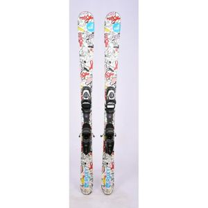 SKI Ski occasion Junior Roxy Air FS blanc + Fixations