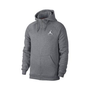 059b700b86b TENUE DE BASKET-BALL Veste à capuche Nike Jumpman Fleece Gris