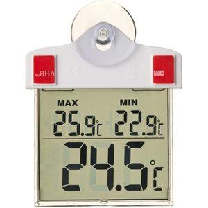 THERMOMÈTRE - BAROMÈTRE NATURE Thermomètre extérieur mini-maxi - Fixation