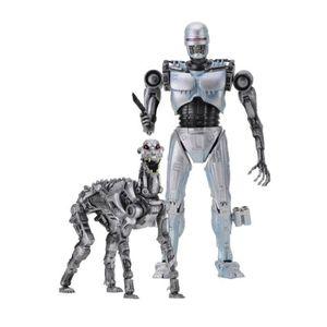 FIGURINE - PERSONNAGE Neca - The Terminator vs RoboCop - Pack 2 figurine