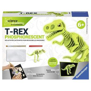 HISTOIRE - GEO SCIENCE X RAVENSBURGER Mini T-Rex Phosphorescent J