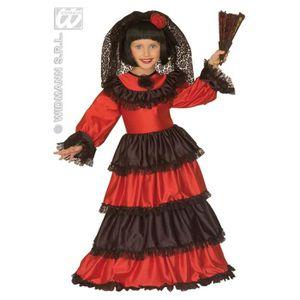 DÉGUISEMENT - PANOPLIE Déguisement robe espagnole enfant 11 à 13 ans