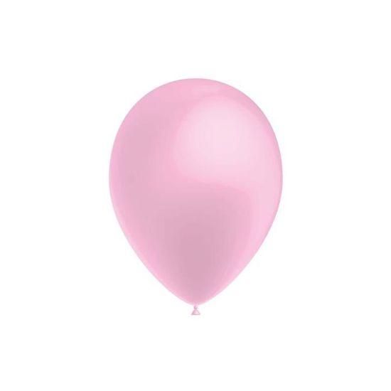 Mondial-fete Ballon Alu B/éb/é Fille Rose 71 x 47 cm