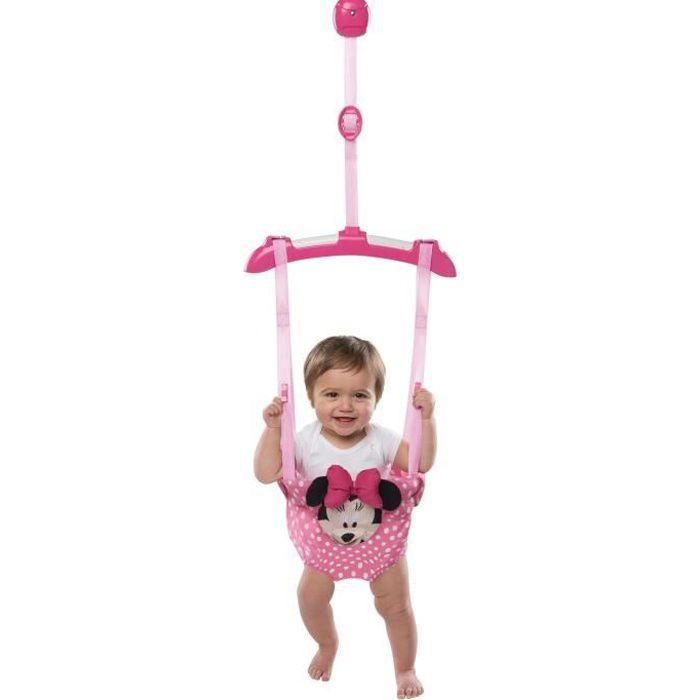 Disney Baby - Minnie Sauteur de Porte - Garçon et fille