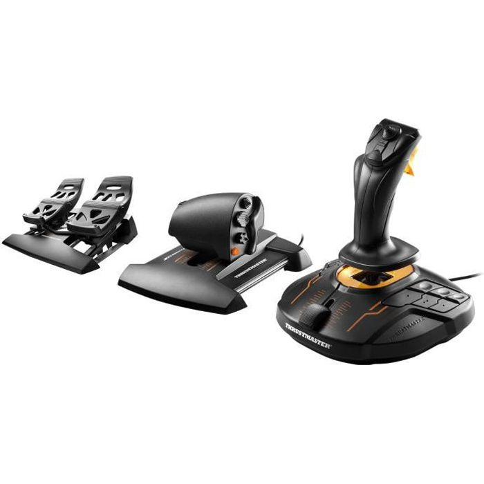 Thrustmaster Joystick T-16000M FCS FLIGHT PACK - PC
