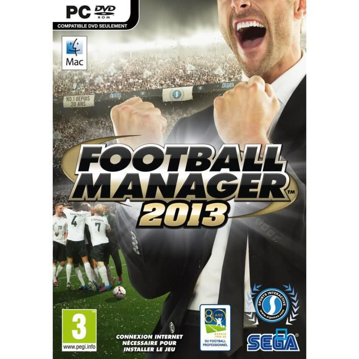 JEU PSP FOOTBALL MANAGER  2013 / PSP