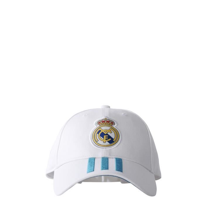 Casquette Real Madrid 2017-2018 - blanc-bleu - M