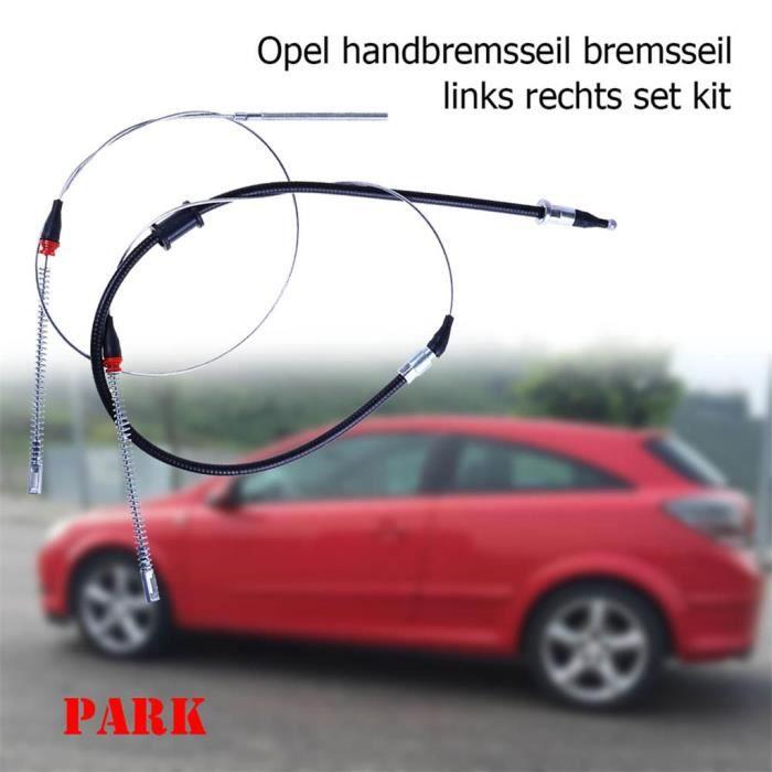 Pour Opel corsa B 2 x câble de frein à main Gauche Droite Set Kit arrière 90445985-90538700 rte361