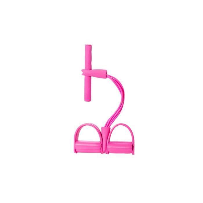 4 Tubes résistance élastique tirer cordes rameur ventre résistance bande maison gymnastique Sport entraînement JS10417