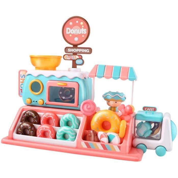 Support de supermarché de Chariot de crème glacée sur des Roues MobilesMon Premier Ensemble de Desserts de Nourriture de Joue 233
