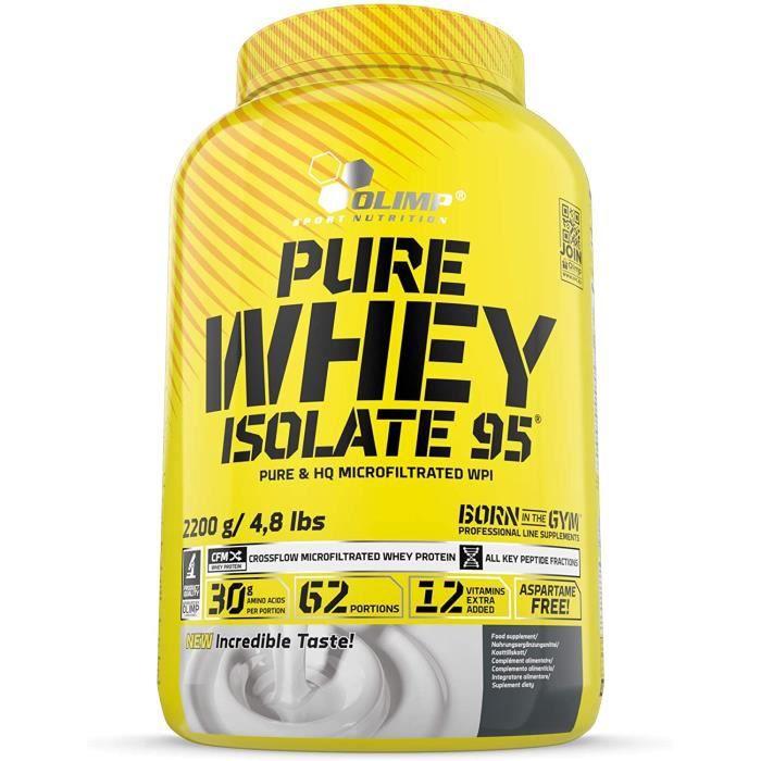 OLIMP SPORT NUTRITION Pure Whey Isolate 95 Chocolat 2,2 kg 432